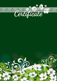 Check out free templates for word for a. Certificate Template Summer Holiday Dimaker Templates Certificate