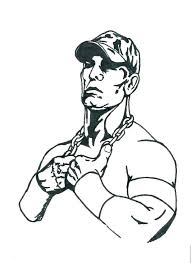 John Cena Coloring Pages Printable John Coloring Pages John Coloring