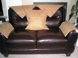 image of la z boy set of headrest and armrest covers