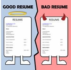 Awesome Good Vs Bad Resume Pictures - Simple resume Office .