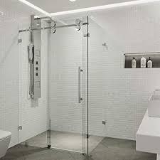 vigo shower doors. VIGO Winslow 36 X 48-in. Frameless Sliding Shower Enclosure With .375- Vigo Doors
