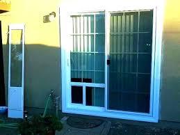 built in doggie doors exterior with pet door screen custom dog