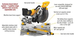 dewalt double bevel miter saw. features for free shipping \u2014 dewalt heavy-duty double-bevel sliding compound miter saw dewalt double bevel n