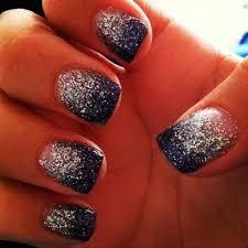 Navy Blue Nail Designs For Prom Navy Blue And Silver Nail Ideas Cute Nail Ideas Nails