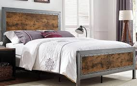 Tag Archived Of Bed Frame Queen Menards : Cool Industrial Bed Frame ...