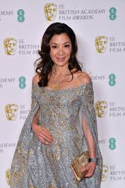 Bafta Award For Best Costume Design Actress Michelle Yeoh Sparkles On The Red Carpet Of The 2019