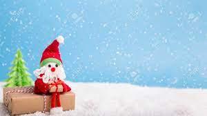 Winter Wallpaper. Santa Sitting On ...