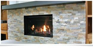 wood burning fireplace with gas starter fireplace
