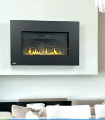 ventless natural gas fireplace wall mount screens less