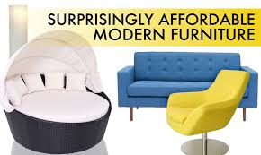 Chic Affordable Modern Furniture 14 Surprisingly Affordable Pieces