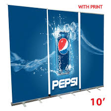 Retractable Display Stands Roll Up Banner STand Wall 100' 31