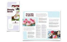 What Is A Pamphlet Sample Bakery Pamphlet Sample Ami Design