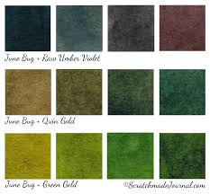 Umber Color Chart 6 Color Autumn Palette For Watercolor Scratchmade Journal