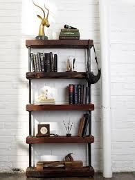Industrial diy furniture Homemade Diy Shelf Ideas Built With Industrial Pipe Simplified Building 59 Diy Shelf Ideas Built With Industrial Pipe Simplified Building