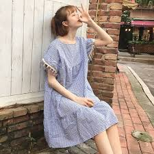<b>2017</b> summer <b>new new arrival</b> women small <b>fresh loose</b> doll skirt ...