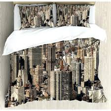 new york city bedding aerial new city famous town of the world north capital image duvet