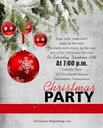 Christmas Invitation Template And Wording Ideas Christmas