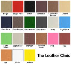 full leather re colouring kit for sofa