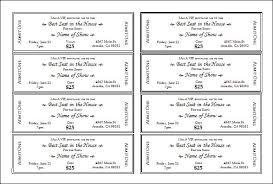 Event Ticket Maker Under Fontanacountryinn Com