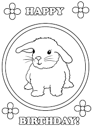 They can do gifts only by his hands. Happy Birthday Coloring Pages Free Printable Coloring Pages For Kids
