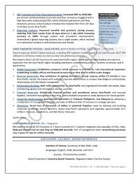 Resume And Cover Letter Finance Executive Resume Samples Sample