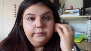 tutorial how to highlight and contour a round face or plus size you