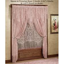 Lace Window Treatments Queens Lace Window Treatment Lace Window