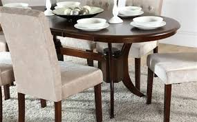 slate dining table townhouse oval dark wood extending dining table and 6 chairs set slate slate dining table round