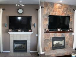 Pictures gallery of Fireplace Renovations Before And After. Share ...