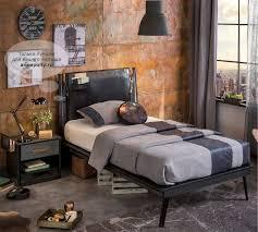 <b>Cilek Dark</b> Metal Leather кровать - купить в интернет-магазине ...