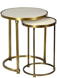 nesting end tables. Round Marble End Table Wonderful Nesting Tables With Best Nest Of Images On