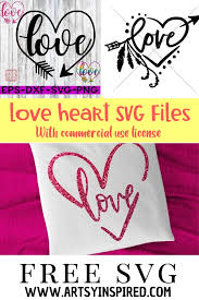 It includes every svg file set in my shop, plus future releases for free! Love Heart Svg Free Cut Ready Craft Files Artsyinspired