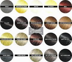 Ion Semi Permanent Color Chart Ion Brights Semi Permanent Hair Color Chart Lajoshrich Com