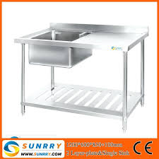 universal stainless steel kitchen sink table in singapore sy sk7615portable for philippines portable unit
