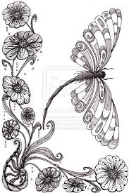 Small Picture 278 best Doodle Flowers images on Pinterest Mandalas Drawings
