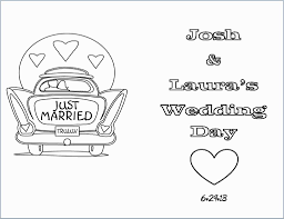 Free Personalized Coloring Page Fabulous Free Coloring Pages Wedding