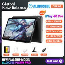 ALLDOCUBE iPlay 40 Pro 10.4 inch 2K Tablet Android 11 8GB RAM 256GB ROM  T618 Octa Core 4G Lte Dual-band Wi-Fi Tablet - Máy tính bảng