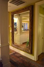 massive floor to ceiling hall mirror