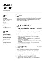 Construction Operation Manager Resume Project Manager Resume Writing Guide Resumeviking Com