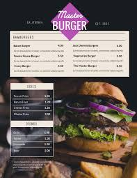 Restaurant Menu Designer Software Free Menu Maker Menu Creator Visme