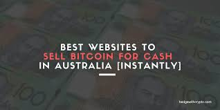 And if you want to sell bitcoin for usd using a local us bank, it's just $5.00! How To Sell Bitcoin In Australia 8 Easy Ways Hedgewithcrypto