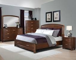 Light Blue Bedroom Furniture Contemporary Bedroom With Dark Wood Bed Google Search Bed 5