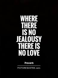 No Love Quotes Classy Where There Is No Jealousy There Is No Love