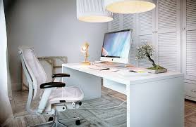 large white office desk. Wonderful White Ergonomic Office Chairs Behind Desk With Intended For Large Ordinary I