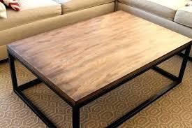 box frame coffee table metal frame coffee table with wood top box frame coffee table metal