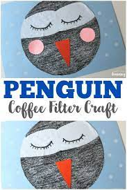 If your life is anything like ours, you drink coffee like it is going out of style. Easy Coffee Filter Penguin Craft For Kids To Make Winter Crafts For Kids Penguin Craft Winter Crafts