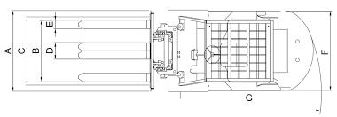 tailift fg30 6000 lb pneumatic gas lpg forklift stark pro forklift diagram top