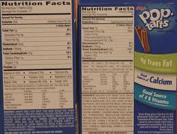 james ordinary guy reviews aldi millville toaster tarts vs frosted strawberry pop tart nutrition label