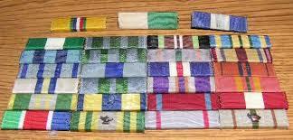 Various Unidentified Ribbons Ribbon Bars Ref U S