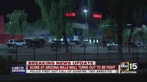 Shooting scare at Arizona Mills Mall ...